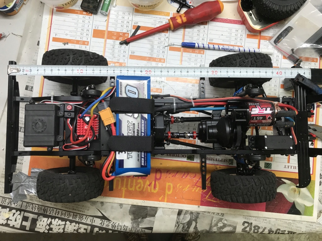 Différents Chassis Defender D90 : Boom Racing, Xtra Speed et Rc4wd Gelande 2 Image-23