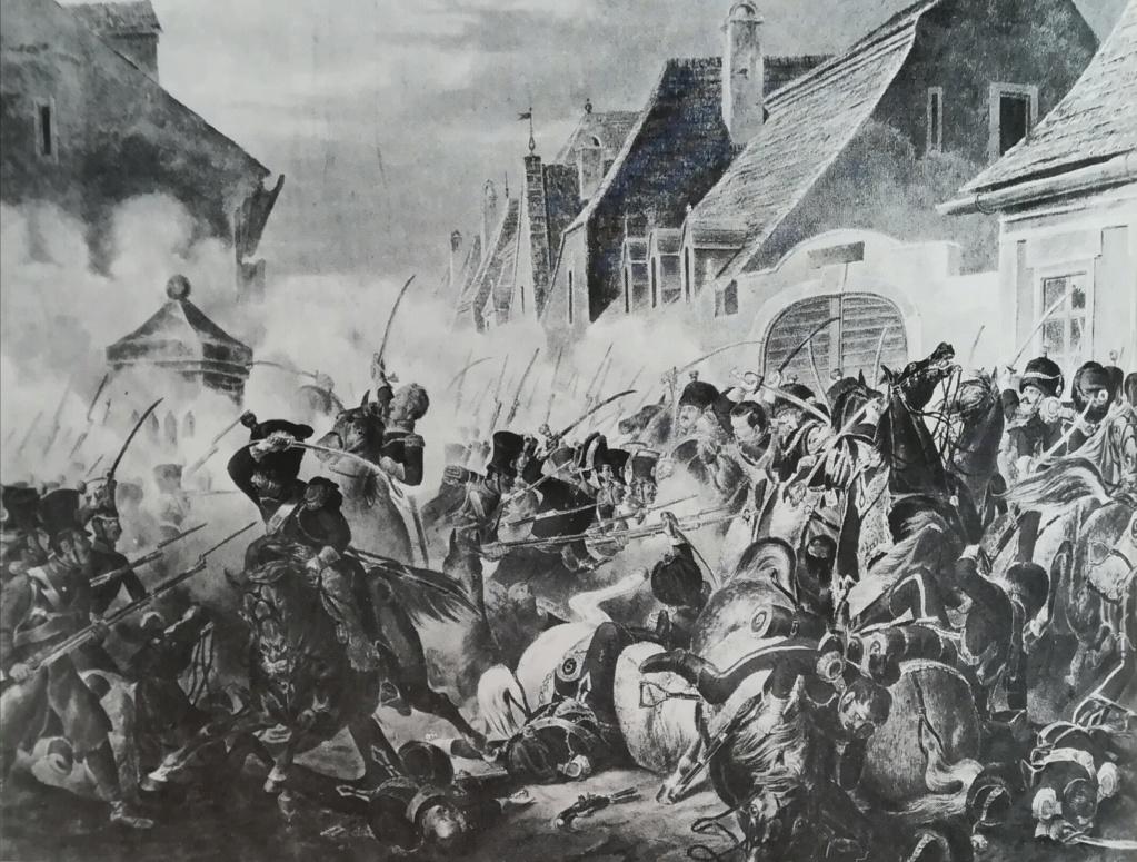 Campagne de Bavière 1809 - Contre attaque de  Neumarkt-Sankt Veit - 24 Avril Combat10