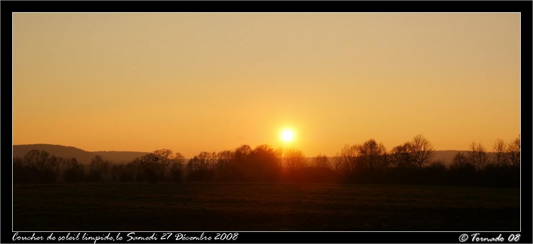Lever/Coucher de soleil 27-12-12