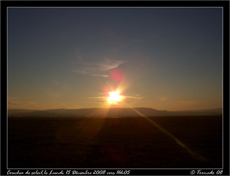 Lever/Coucher de soleil Dacemb20