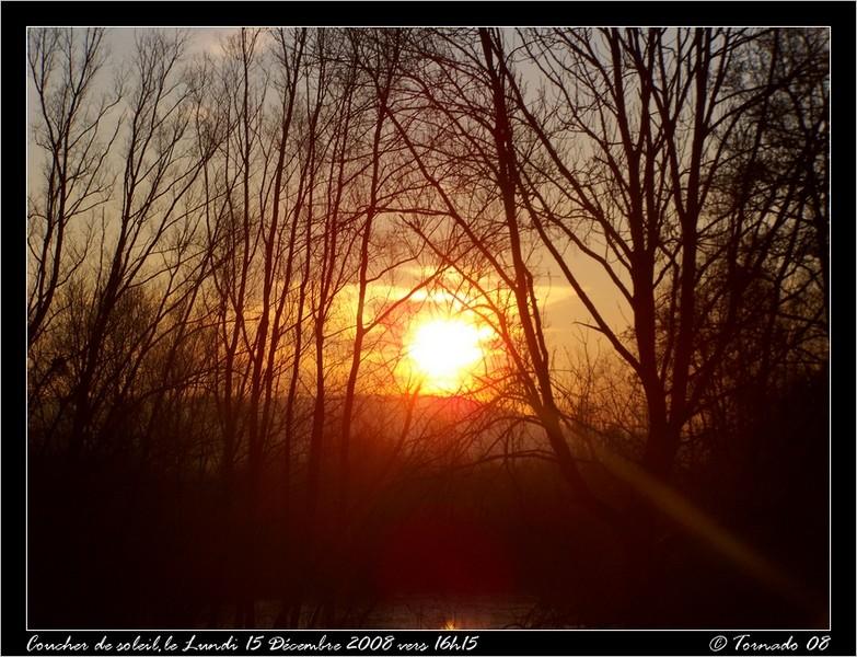 Lever/Coucher de soleil Dacemb21
