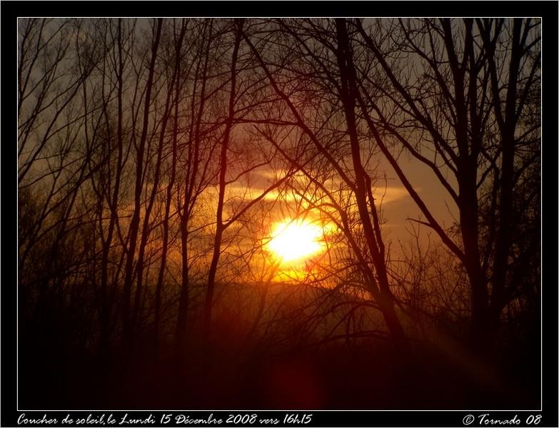 Lever/Coucher de soleil Dacemb22