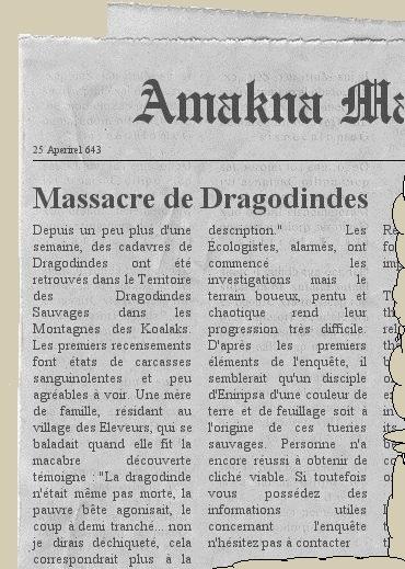 Une page d'Amakna Magazine, à moitié déchirée... Newspa10