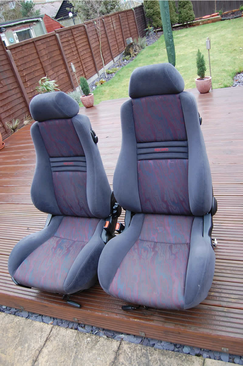 Recaros on Mk2 runners Recaro11