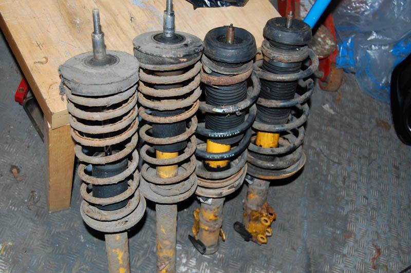 Mk2 / Mk3 suspension. Koni adjustables and Eibach springs Suspen10