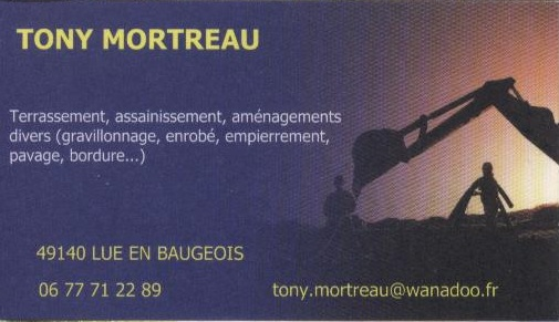 TERRASSEMENT ASSAINISSEMENT MORTREAU TONY à LUE EN BAUGEOIS Tony11