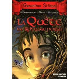 [Stilton, Geronimo] Chronique des mondes magiques - Tome 1: La quête du royaume perdu Geroni10