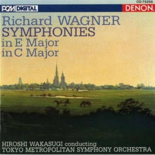 WAGNER- Symphony in C dur major  Cover23