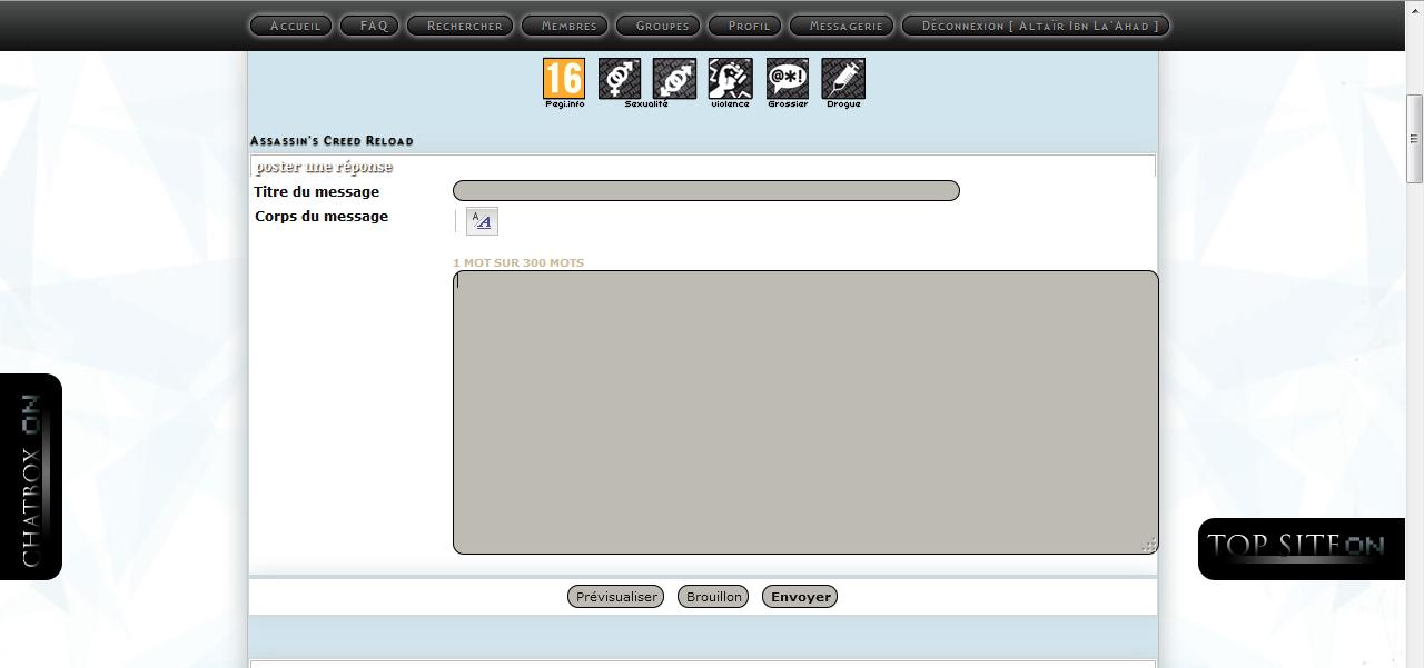 Nouvel éditeur de Message de ForumActif Tuto310
