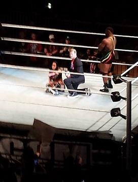 Un Champion à la WWE blessé. Ziggle10