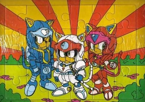 Samouraï Pizza cats Puzzle10