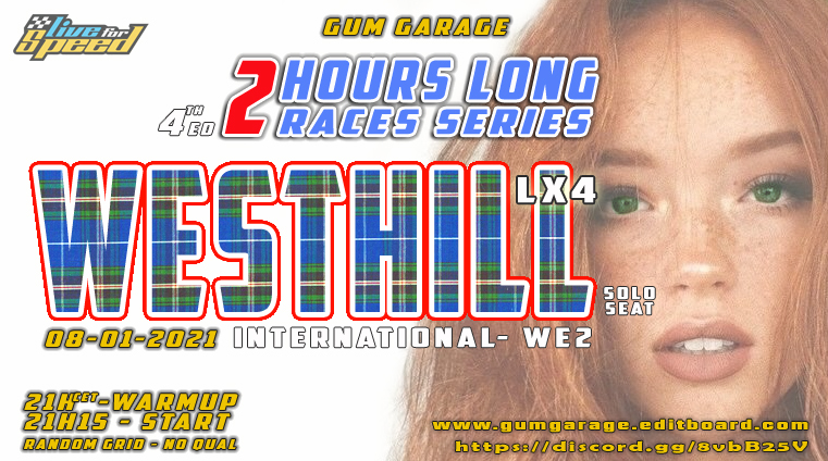 affiche 4th Enduro 2H - GUM Garage Gumgar11
