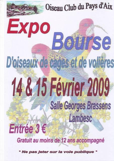 Oiseau Club du Pays d'Aix Affich10
