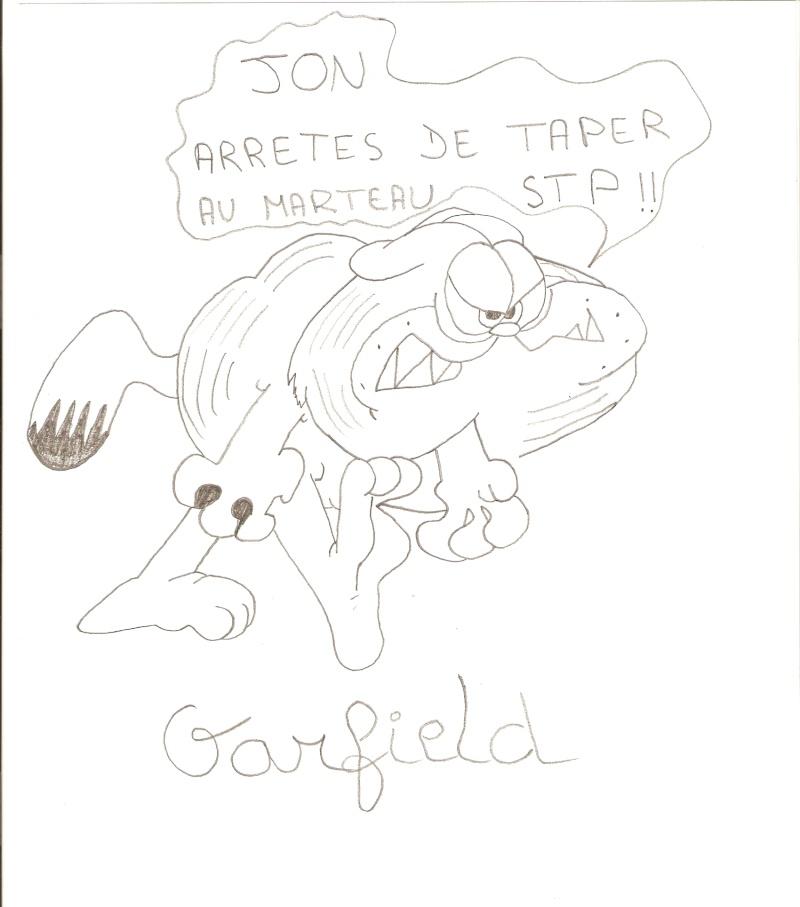 Dessins  Garfield Dessi100