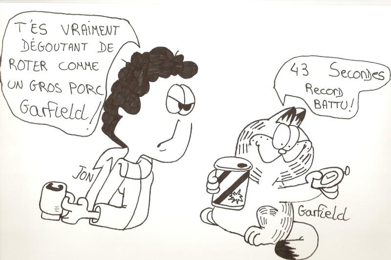 Dessins  Garfield Dessin92