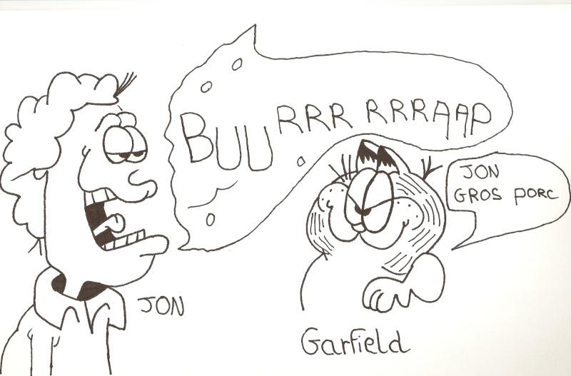 Dessins  Garfield Dessin93