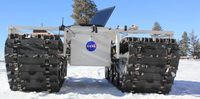 """""""Curiosity sur glace"""": un rover à l'assaut du Groenland 57352810"""