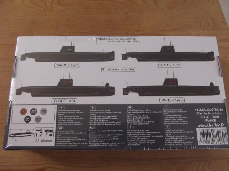 [David Lacroix] [Sous-marin S 643 Le Doris] [Heller  boite Daphné ref 81069] [échelle 1/400] Dscf4410