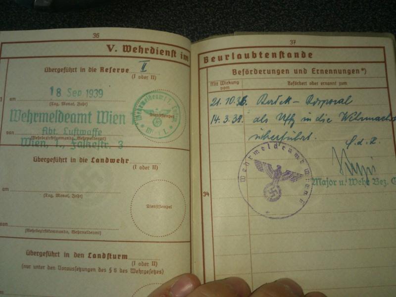 SoldbuchS et WehrpassS Luftwaffe ! Dsc_0169