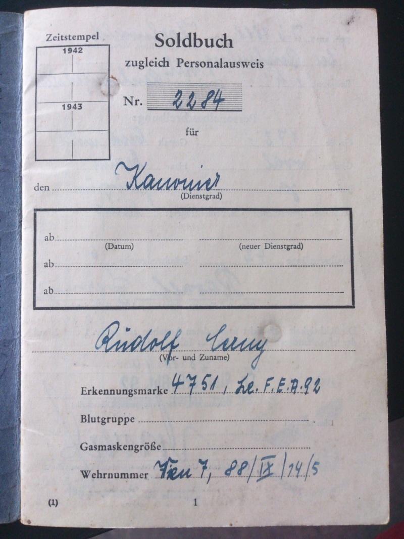 SoldbuchS et WehrpassS Luftwaffe ! Dsc_0255