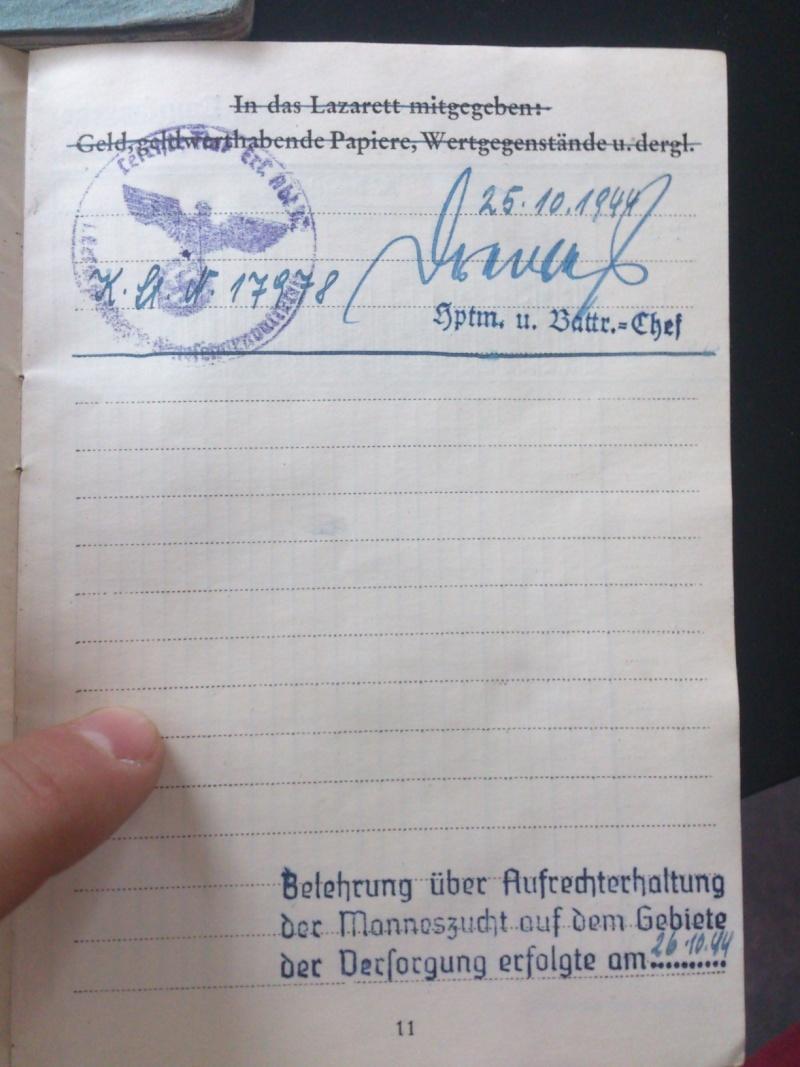 SoldbuchS et WehrpassS Luftwaffe ! Dsc_0259