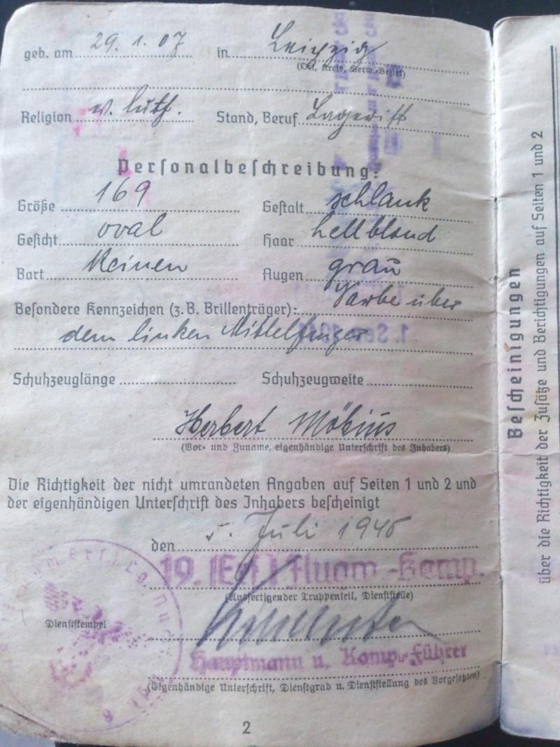 SoldbuchS et WehrpassS Luftwaffe ! Dsc_0263
