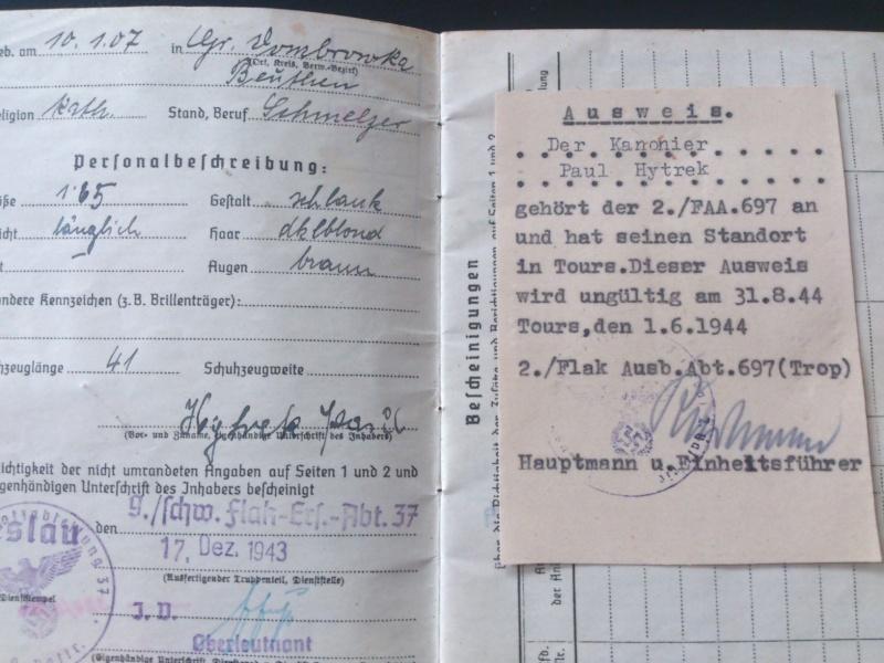 SoldbuchS et WehrpassS Luftwaffe ! Dsc_0279