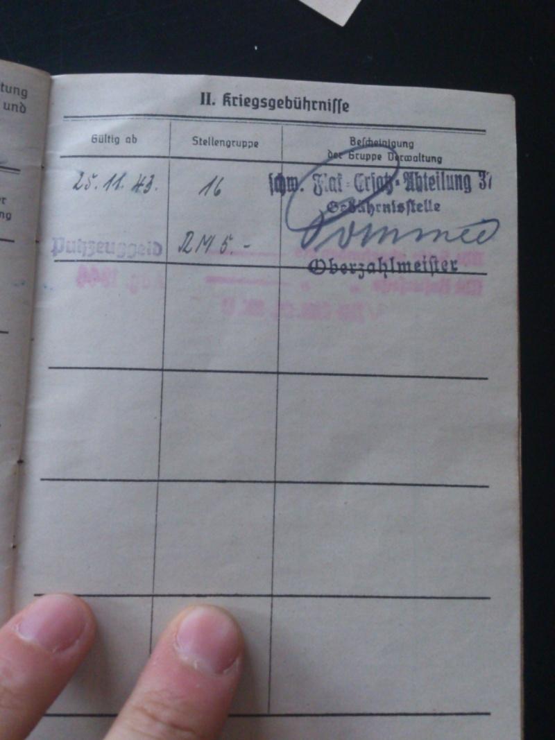 SoldbuchS et WehrpassS Luftwaffe ! Dsc_0285
