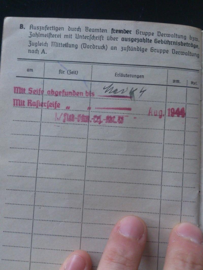 SoldbuchS et WehrpassS Luftwaffe ! Dsc_0286