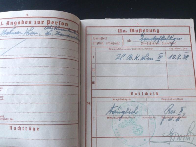SoldbuchS et WehrpassS Luftwaffe ! Dsc_0292