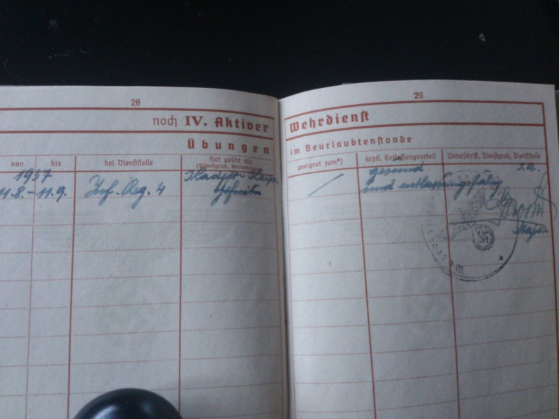 SoldbuchS et WehrpassS Luftwaffe ! Dsc_0296