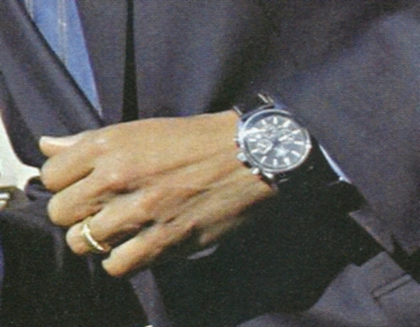La montre de Barak Obama Scan10