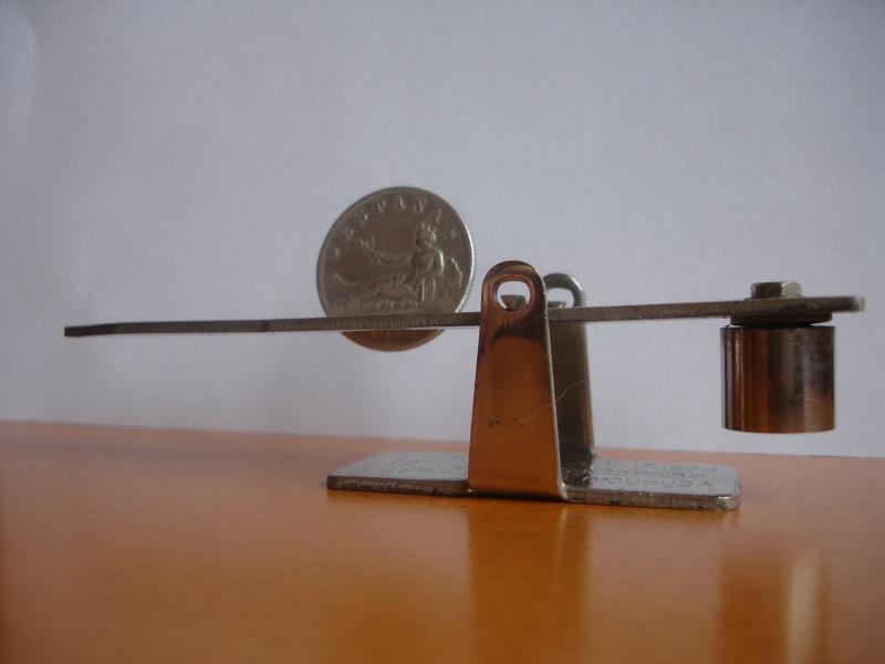 "Mi nueva balanza ""La infalible"" del siglo XIX Dsc06510"