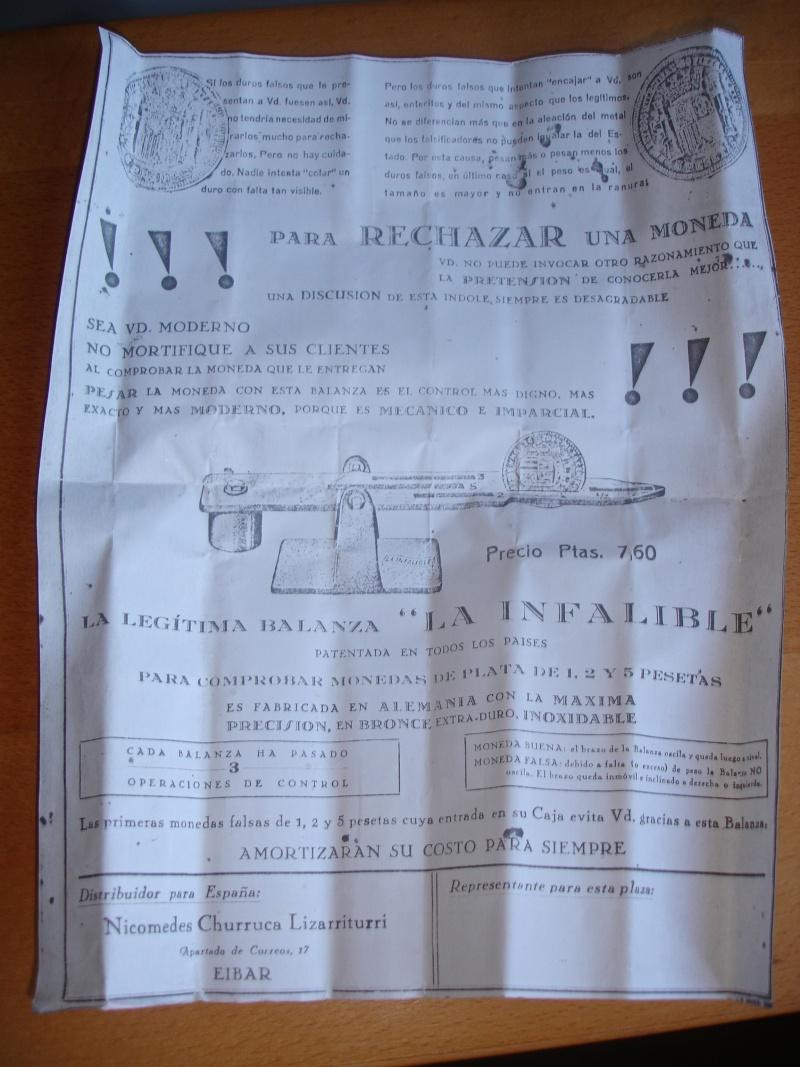 "Mi nueva balanza ""La infalible"" del siglo XIX Dsc06516"