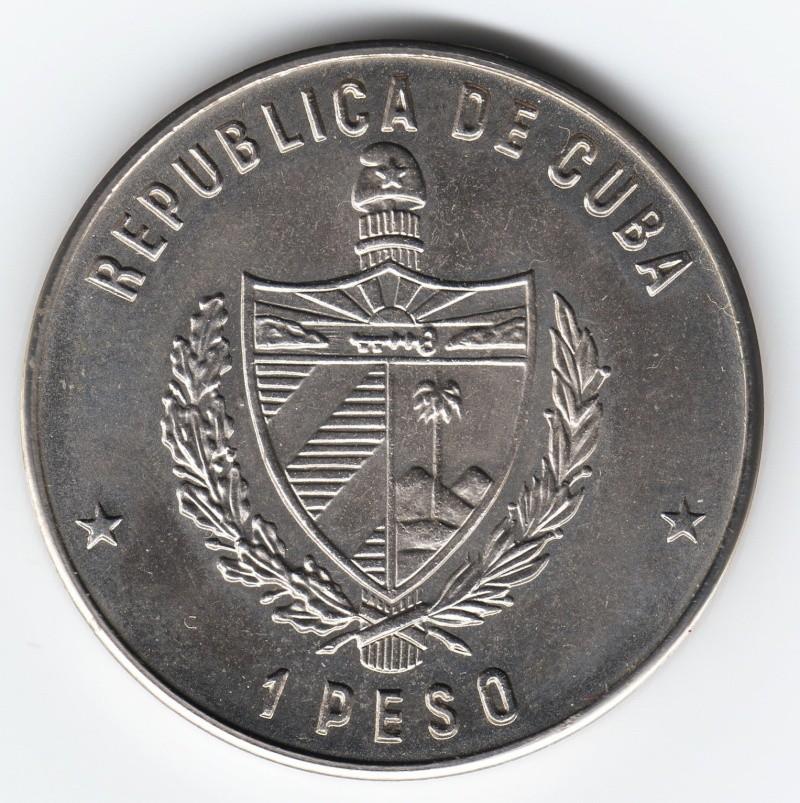1 Peso (Miguel De Cervantes). Cuba. 1982. La Habana Img64910