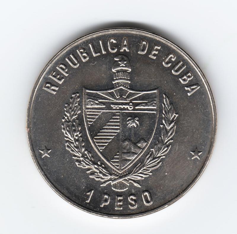 1 Peso (Hidalgo Don Quijote). Cuba. 1982. La Habana Img65610