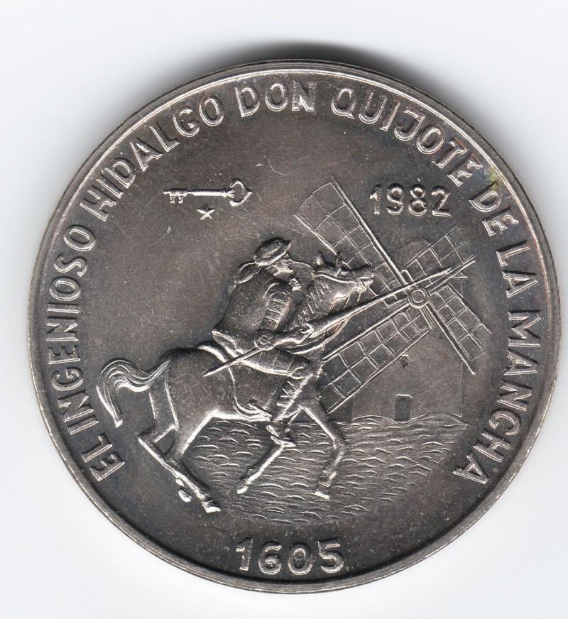 1 Peso (Hidalgo Don Quijote). Cuba. 1982. La Habana Img65710