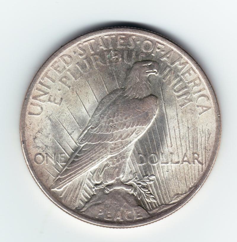 """1 Dollar """"La Paz"""". U.S.A. 1924. Philadelphia Img70110"""