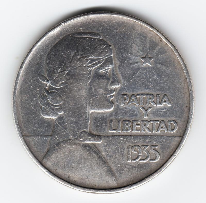 "1 Peso ""ABC"". Cuba. 1935. Philadelphia Img70310"