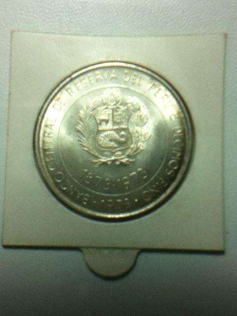 100 Soles de Oro (Intercambio Peru-Japón). Perú. 1973 T85e10