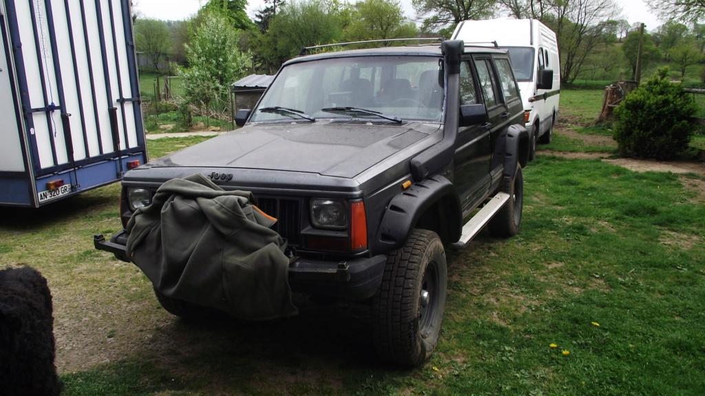 Jeep Cherokee XJ 4 litre Rehausse 10cm Dscf6110