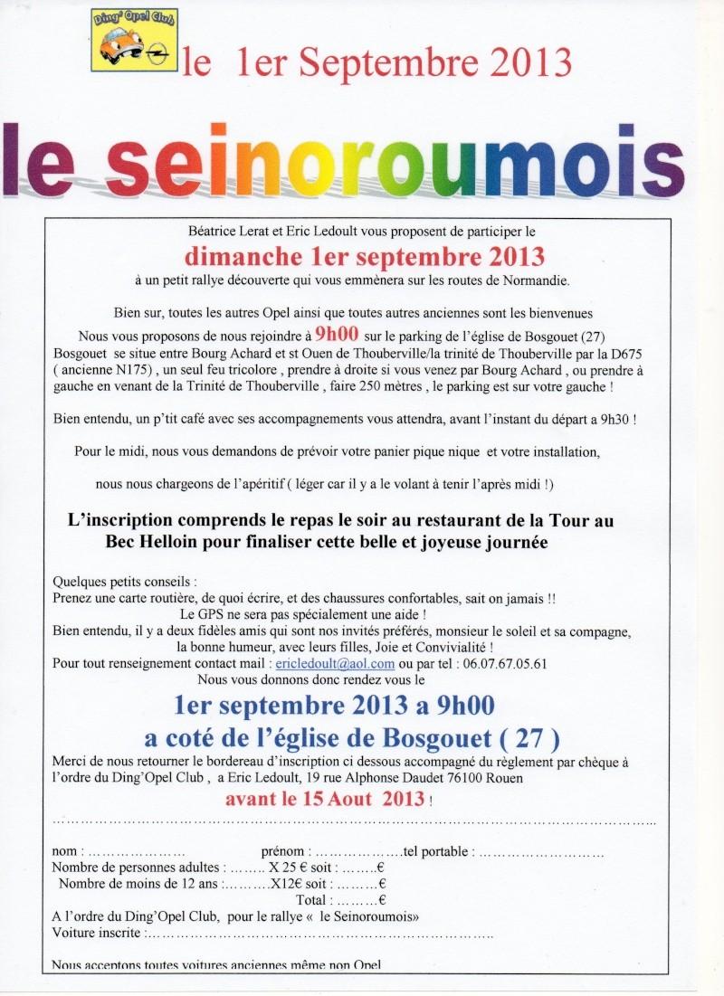 """rallye du DOC """"le seinoroumois"""" le 1er septembre 2013 Seinor10"""