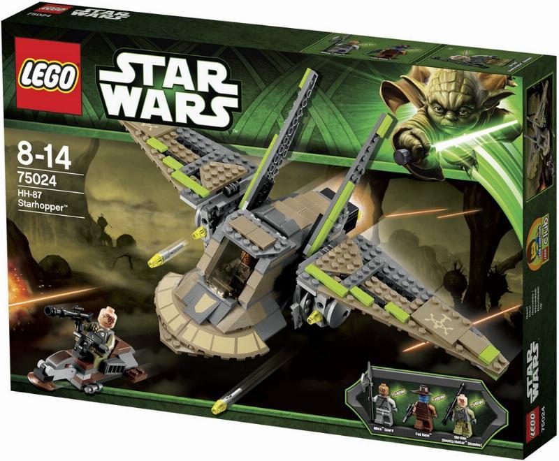 LEGO STAR WARS - 75024 - HH-87 Starhopper  75024-10