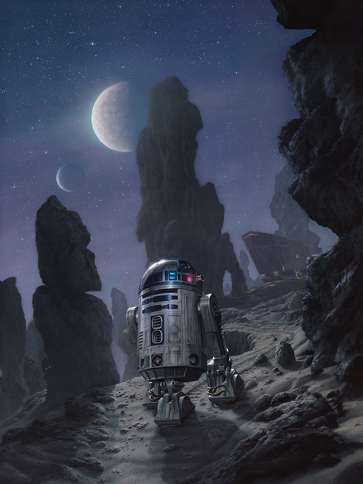 Artworks - ACME - Disney Star Wars Week End 2013 Artoo_10