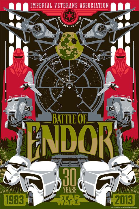 Artwork Star Wars - ACME - Battle of Endor  Battle10