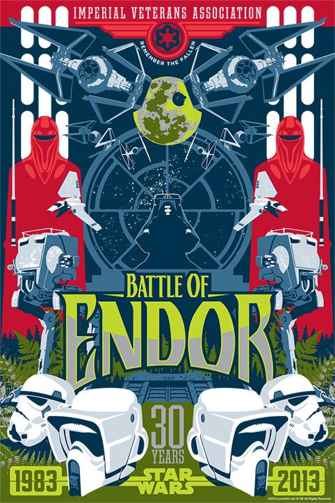 Artwork Star Wars - ACME - Battle of Endor  Battle11