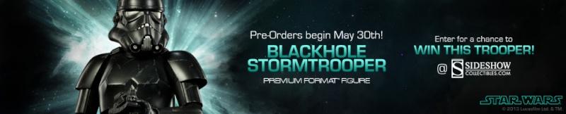 Sideshow - Blackhole Stormtrooper Premium Format Figure Blackh10