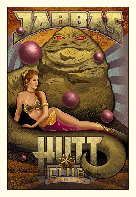 Artwork Star Wars - ACME - Jabba's Hutt Club Jabba_10