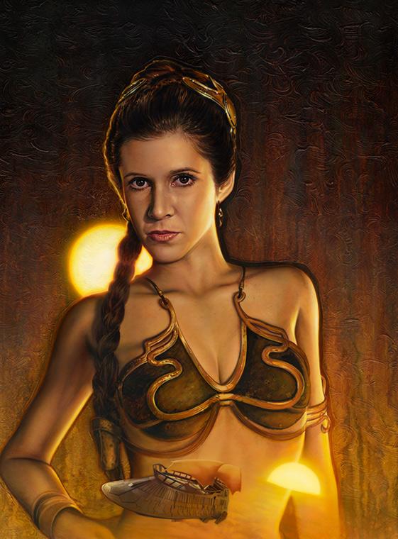 Artworks - ACME - Disney Star Wars Week End 2013 Jabba_11