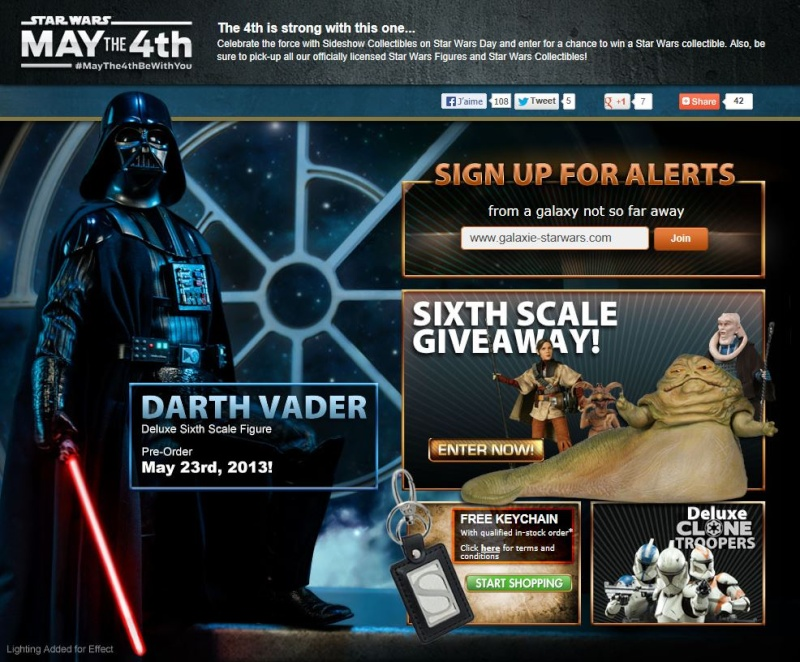 Sideshow : May the 4th  2013 Maythe11